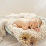 Newborn pictures of Khloe